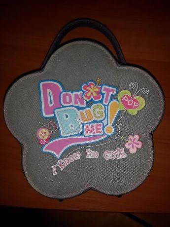 Шкатулка-сумочка-косметичка для юной леди