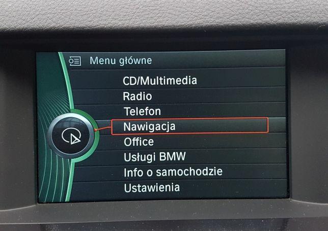 BMW Polskie Menu E60 E70 E90 Lektor Mapa Nawigacja CCC CIC NBT