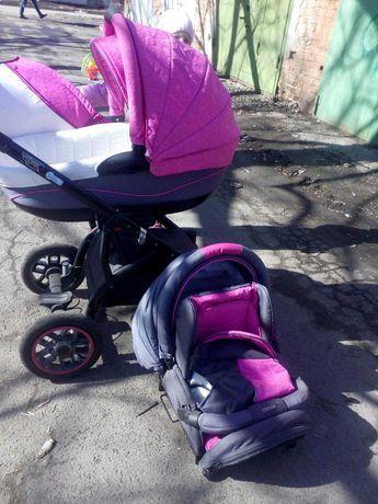 Adamex York, дитяча коляска 2в1