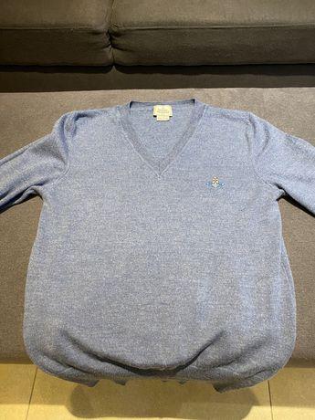 Vivienne Westwood Sweterek sweter włoski 100% czysta wełna