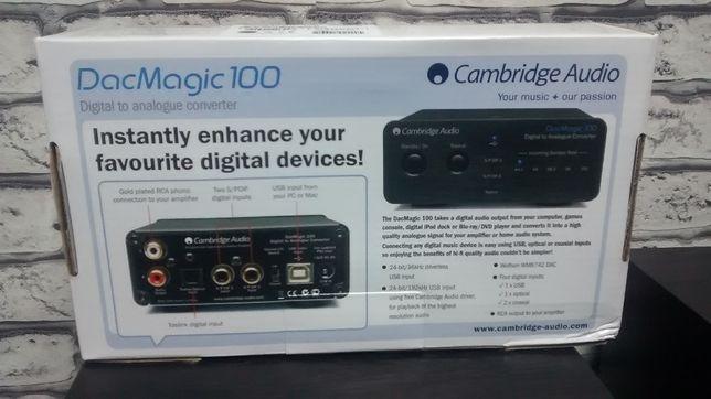 Cambridge Audio DacMagic 100 + RCA Inakustik 0,75m - sklep BYDGOSZCZ