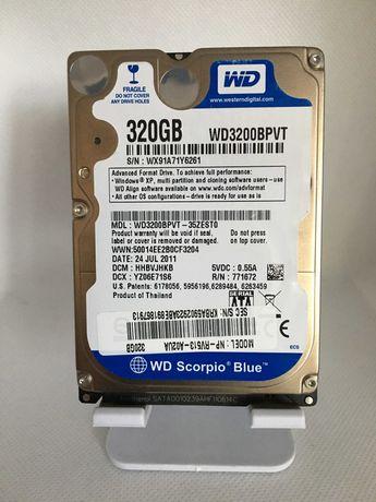 Жесткий диск HDD Western Digital Blue 320GB для ноутбука