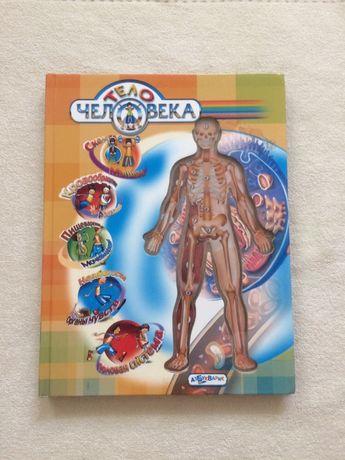 Супер книга «Тело человека» с прозрачными вставками