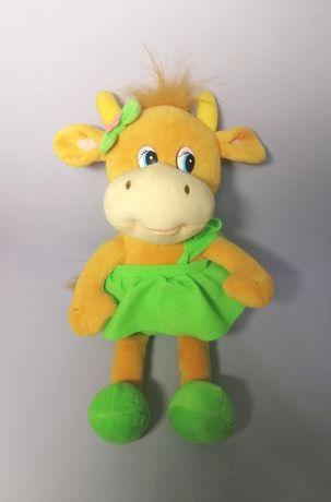 Мягкая музыкальная игрушка корова