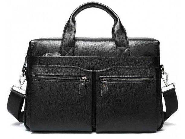 Мужская кожаная сумка для ноутбука и документов Bexhill A25-7122A