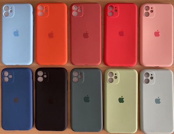 Capa silicone iPhone 11 proteção das câmaras