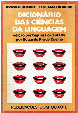 7797  Dicionário das Ciências da Linguagem de Oswald Ducrot
