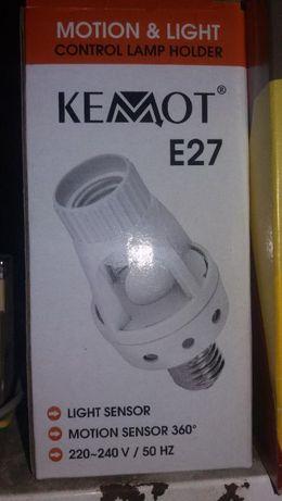 Sensores de Luz Kemot E27 suporte incluido!