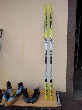 Komplet nart biegowych Fiszery RCS 184 kroku łyżwowego
