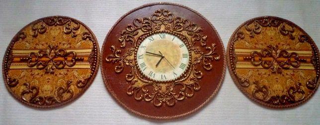 Часы настенные,панно,картина
