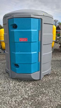 Zbiornik do przechowywania paliw płynnych 2500l w pełni wyposażony