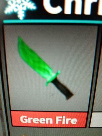 Green Fire Murder Mystery Roblox