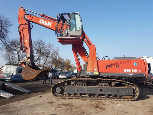 SPRZEDAM - koparka gąsienicowa O&K RH 16.5 - 41 ton