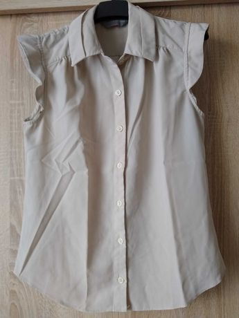 Koszula z krótkim rękawem Dorothy Perkins beżowa 36