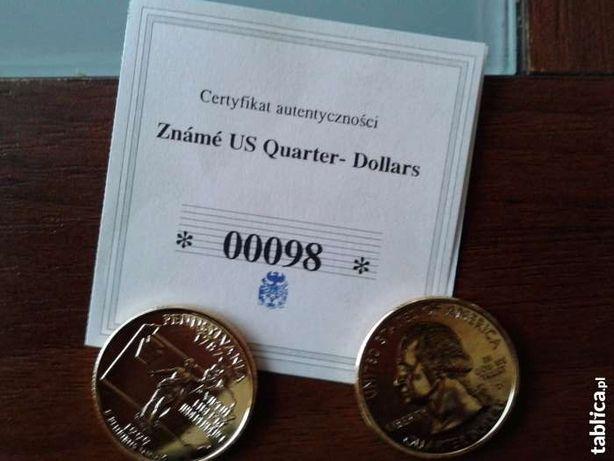 Medale Zname US Quarter-Dollars