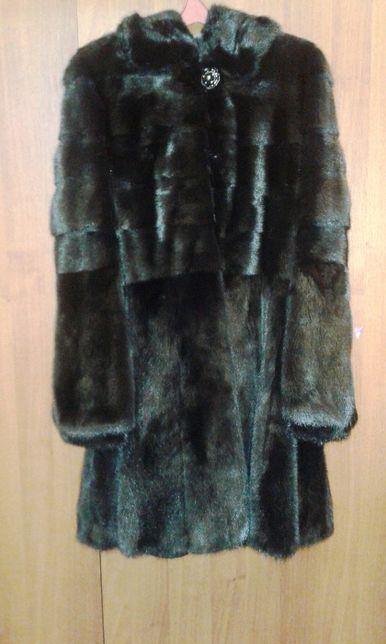 Шуба норковая Kopenhagen Fur Platinum Почти новая