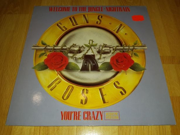 Guns N' Roses (Welcome To The Jungle) 1987. Пластинка. Germany