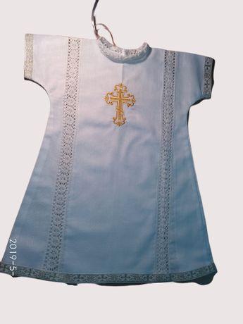 Распашонка Крыжма Крестильное полотенце Рубашечка на крещение