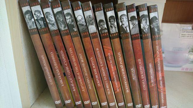 Уникальная ретроколлекция любимых фильмов. Книги с дисками