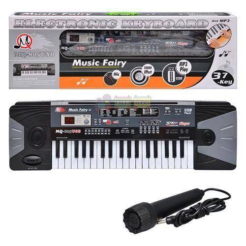 Синтезатор детский MQ805 USB (37 клавиш) Харьков - изображение 1
