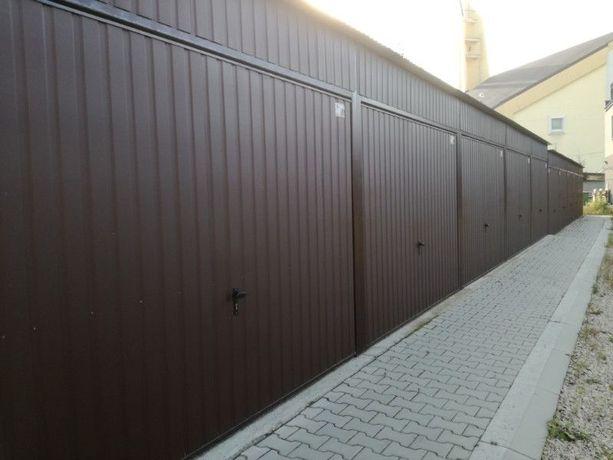 Garaż z instalacją elektryczną