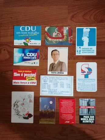 Calendários Vários Partidos Políticos e Sindicais