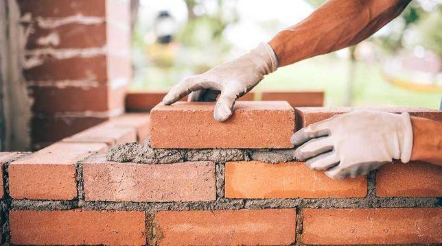 Кирпичная кладка,укладка газоблоков,бетоные работы камины печи барбекю