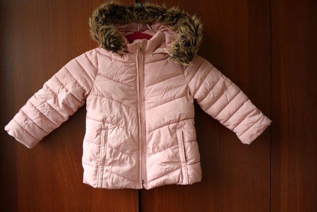 Куртка ZARA весна \ осень на флисе 104 см рост