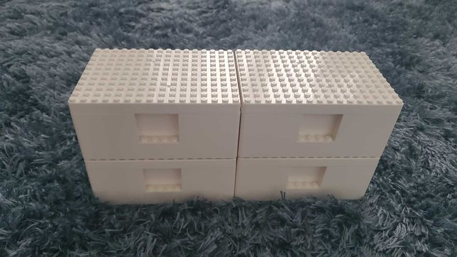 4 Caixas de lego, ikea.