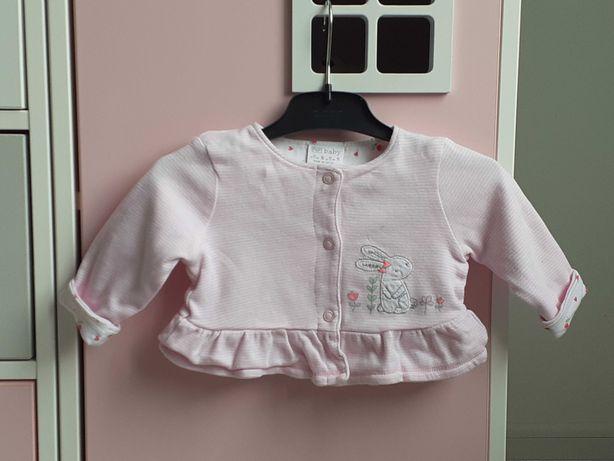 Bluzka kardigan sweter niemowlęcy. Rozmiar 62