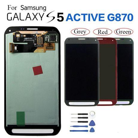 "Дисплейный модуль Samsung s5 Active G870F сенсор тач 5.1"" LCD"