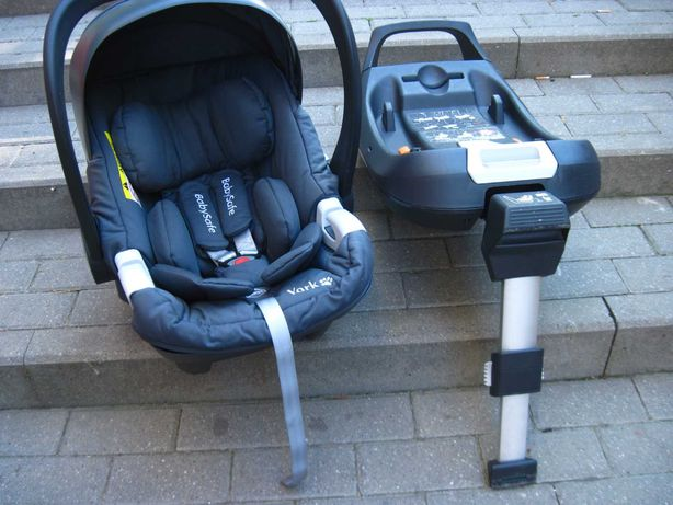 Fotelik samochodowy BabySafe 0-13 kg + baza isofix