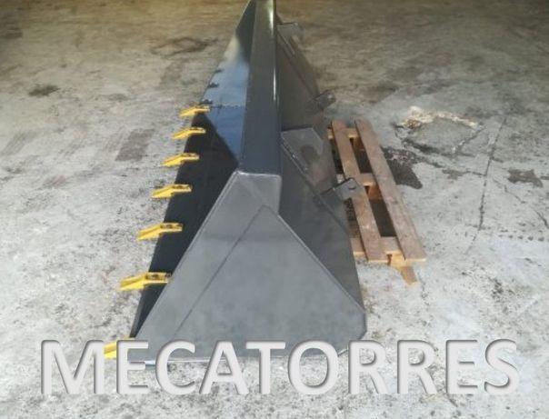 Pá para carregador frontal (fabrico próprio)