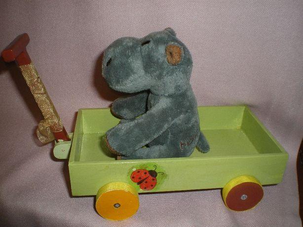 Игрушка из экоматериалов, детская машинка