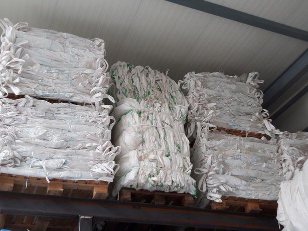 MOCNE opakowania big bag worki bigbagi 98x98x102 cm z lejem spustowym