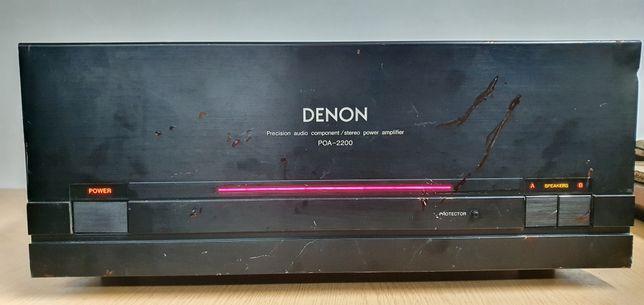 Końcówka Mocy DENON POA-2200 Potęga okazja