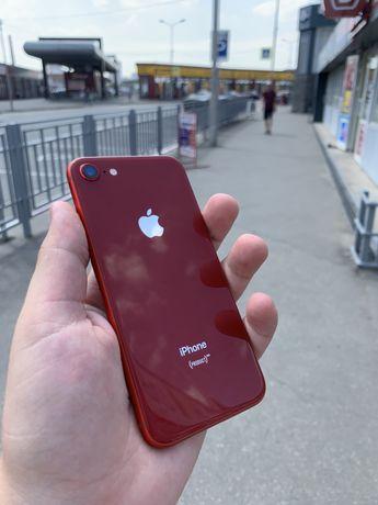 Iphone se 2020 product red 64gb 100% аккумулятор