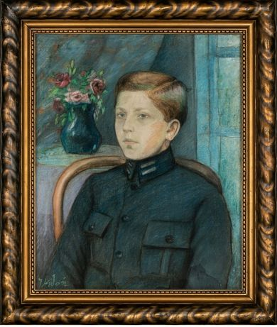 "Józef Kidoń ""Chłopiec w mundurku"""