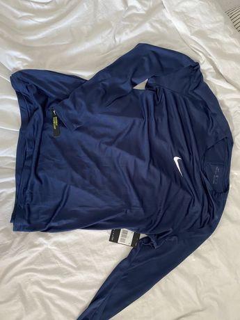 Koszulka bluzka nike termiczna treningowa dri-fit invisible thumb loop