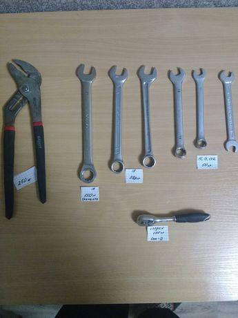 Ключи накедные ,ключ трещетка,ключ кардан.
