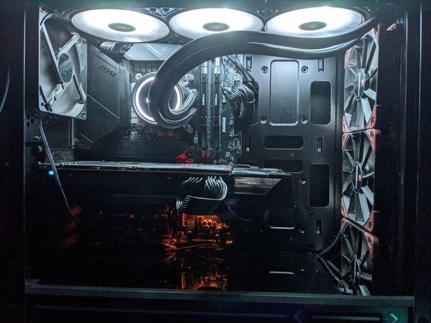 Игровой компьютер 10600к r9 Fury