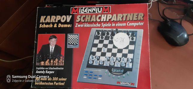 Szachy  nowe komputerowe Karpov -Schachpartner ,,Millenium,,