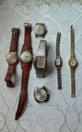 Stare zegarki mechaniczne i kwarcowe