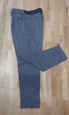 Spodnie cygaretki w kantkę rozm. XL
