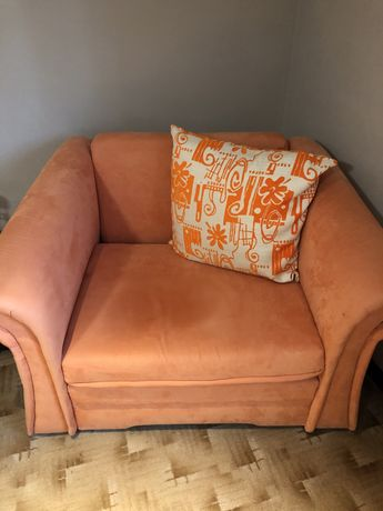 Fotel jednoosobowy, rozkładany