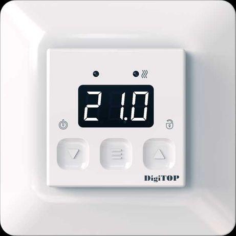 Цифровой, сенсорный терморегулятор для теплого пола DigiTOP TS-1F