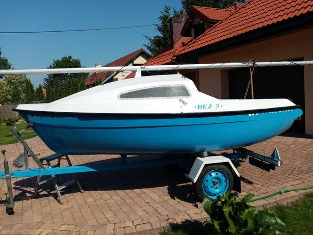 Bez 2 jacht kabinowy zaglowka łódka
