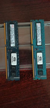 Продам оперативну память DDR3 2x4 8gb 1600
