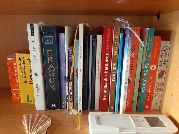 Livros de vários tipos