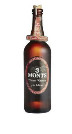 Cerveja 3 Monts - Grande Réserve Tripel 75 cl